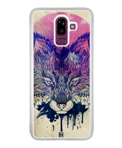 Coque Galaxy J8 2018 – Fox face