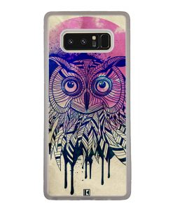 Coque Galaxy Note 8 – Owl face