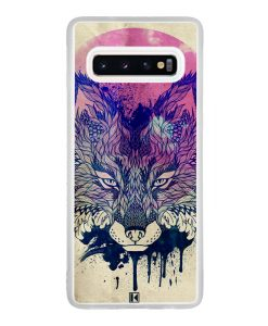 Coque Galaxy S10 – Fox face