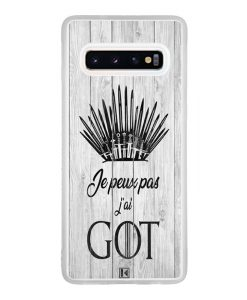 Coque Galaxy S10 – Je peux pas j'ai Game of Thrones