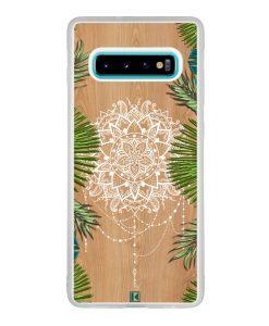 Coque Galaxy S10 Plus – Tropical wood mandala