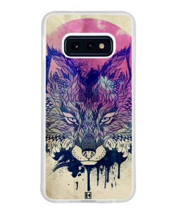 Coque Galaxy S10e – Fox face