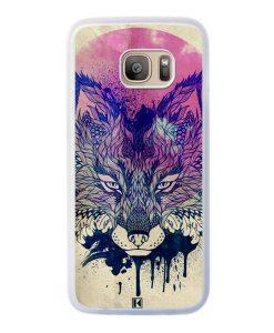 Coque Galaxy S7 Edge – Fox face