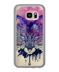 Coque Galaxy S7 – Fox face