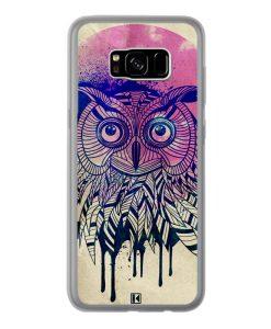Coque Galaxy S8 Plus – Owl face