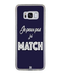 Coque Galaxy S8 – Je peux pas j'ai Match
