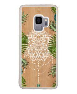 Coque Galaxy S9 – Tropical wood mandala