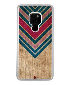 Coque Huawei Mate 20 – Chevron on wood