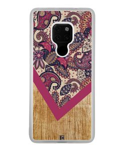 Coque Huawei Mate 20 – Graphic wood rouge