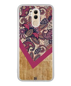 Coque Huawei Mate 20 Lite – Graphic wood rouge