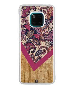 Coque Huawei Mate 20 Pro – Graphic wood rouge