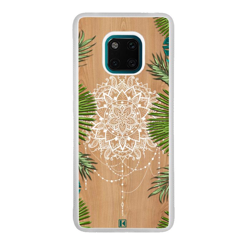 Coque Huawei Mate 20 Pro – Tropical wood mandala