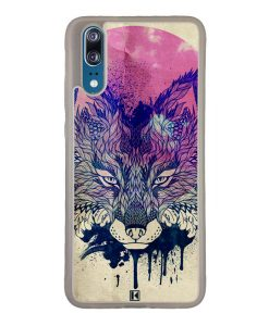 Coque Huawei P20 – Fox face