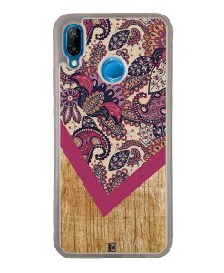 Coque Huawei P20 Lite – Graphic wood rouge