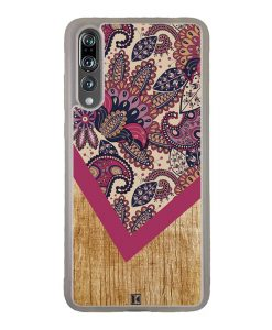 Coque Huawei P20 Pro – Graphic wood rouge