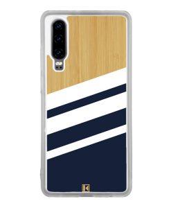 Coque Huawei P30 – Bambou Sport Bleu
