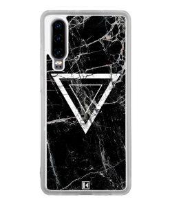 Coque Huawei P30 – Black marble