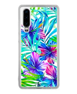 Coque Huawei P30 – Exotic flowers