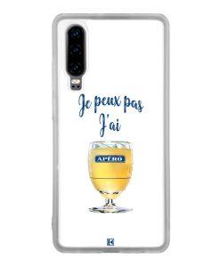 Coque Huawei P30 – Je peux pas j'ai Apéro