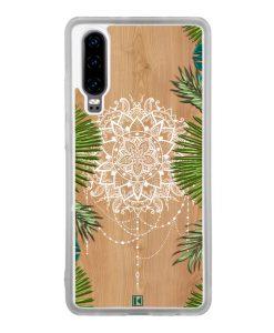 Coque Huawei P30 – Tropical wood mandala