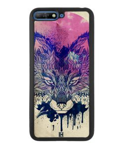 Coque Huawei Y6 2018 – Fox face