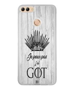Coque Huawei Y9 2018 – Je peux pas j'ai Game of Thrones