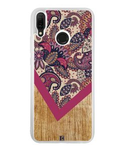 Coque Huawei Y9 2019 – Graphic wood rouge