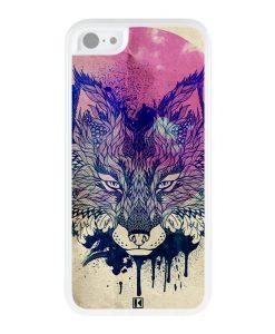 Coque iPhone 5c – Fox face