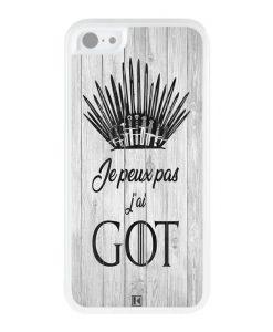 Coque iPhone 5c – Je peux pas j'ai Game of Thrones