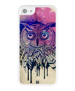 Coque iPhone 5c – Owl face