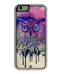 Coque iPhone 6 / 6s – Owl face