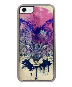 Coque iPhone 7 / 8 – Fox face