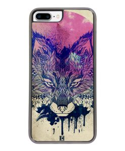 Coque iPhone 7 Plus / 8 Plus – Fox face