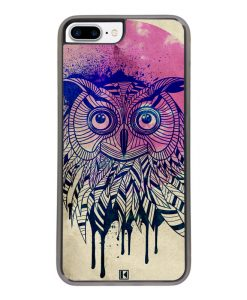 Coque iPhone 7 Plus / 8 Plus – Owl face