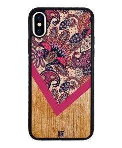 theklips-coque-iphone-x-iphone-xs-graphic-wood-rouge