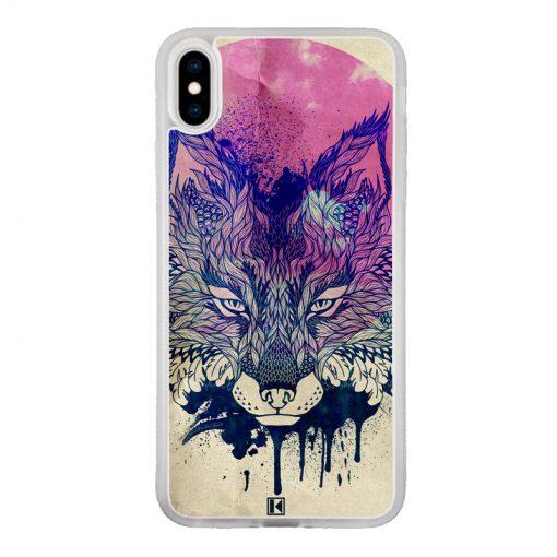 Coque iPhone Xs Max – Fox face