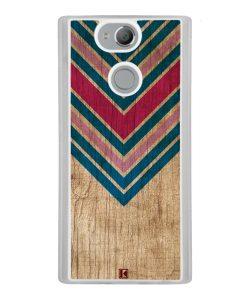 Coque Xperia XA2 – Chevron on wood