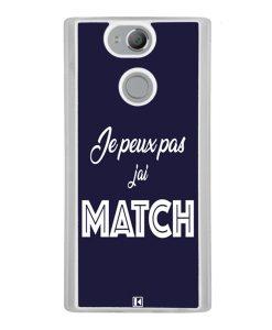 Coque Xperia XA2 – Je peux pas j'ai Match