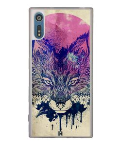 Coque Xperia XZ – Fox face