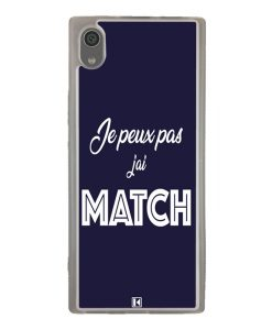 Coque Xperia XA1 – Je peux pas j'ai Match