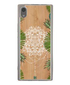 Coque Xperia XA1 – Tropical wood mandala