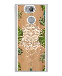 Coque Xperia XA2 – Tropical wood mandala