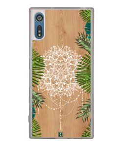 Coque Xperia XZ – Tropical wood mandala
