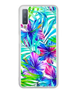 Coque Galaxy A7 2018 – Exotic flowers