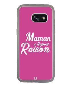 Coque Galaxy A3 2017 – Maman a toujours raison