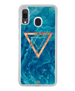 Coque Galaxy A30 – Blue rosewood