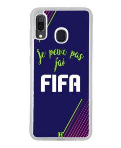 Coque Galaxy A30 – Je peux pas j'ai FIFA