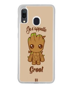 Coque Galaxy A30 – Je s'appelle Groot