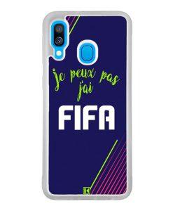 Coque Galaxy A40 – Je peux pas j'ai FIFA