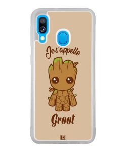Coque Galaxy A40 – Je s'appelle Groot